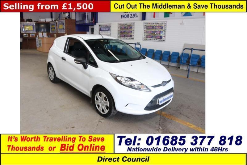 Ford Fiesta Base   Tdci Van Guide Price