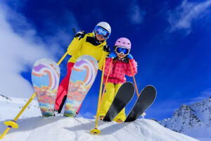 Youth Downhill ski packages - great prices! Several sizes!