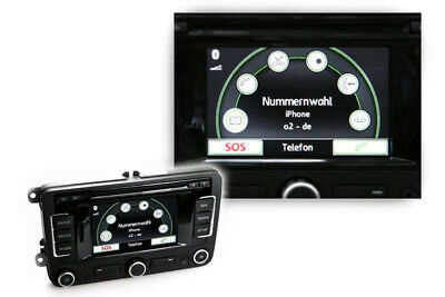 For Vw Rns 315 Original Kufatec only Bluetooth Hands-Free Micro Cable