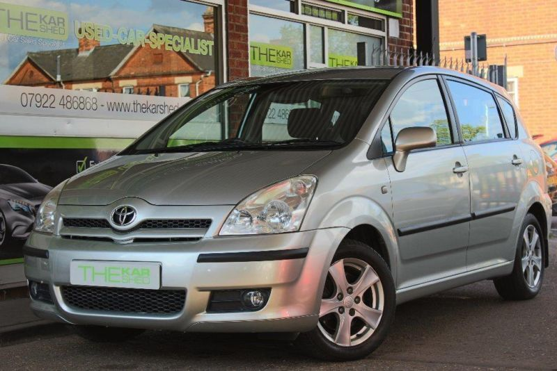 2005 toyota corolla verso 1 8 vvt i t3 5dr in bedford bedfordshire