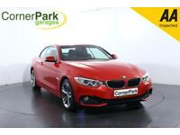 2016 BMW 4 SERIES 420I SPORT CONVERTIBLE PETROL