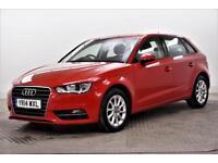 2014 Audi A3 TDI SE Diesel red Semi Auto