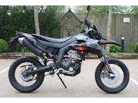 APRILIA SX125 ABS E4 SUPERMOTARD FROM APRILIA A2 LICENCE READY LEARNER LEGAL
