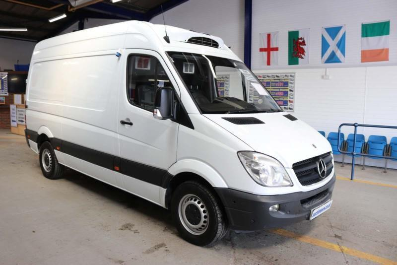 4c99a443af 2010 - 60 - MERCEDES SPRINTER 313 2.2CDI MWB HIGH TOP INSULATED FRIDGE VAN