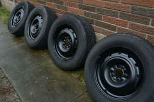 Winter Tires on Rims Dodge Caravan, Chrysler Town and Country