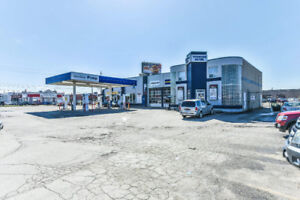 Gas Station for Sale in Toronto w/5 Rental Incomes