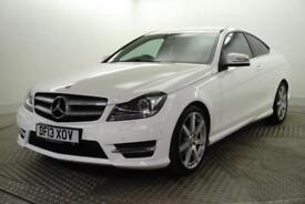 2013 Mercedes-Benz C Class C180 BLUEEFFICIENCY AMG SPORT Petrol white Automatic