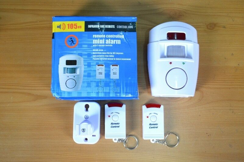 Wireless Motion Sensor Alarm for Home, Garage, Shed