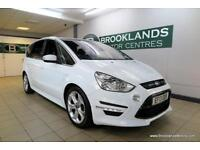 Ford S-Max 2.0TDCI TITANIUM X SPORT 163PS [4X SERVICES, SAT NAV, LEATHER, PANORA