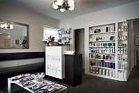 Boutique Whyte Ave salon looking for PT receptionist