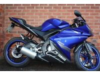 Yamaha YZF R 125 with Free Delivery Nationwide