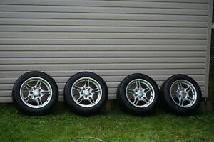 Michelin X-Ice Tires set of four. with Rims - 235/55 R 17