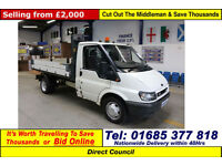 2006 - 06 - FORD TRANSIT T350 2.4TD 90PS MWB SINGLE CAB TIPPER (GUIDE PRICE)