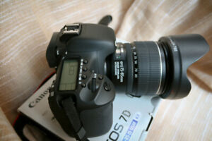 Canon 50D w. EF-S 15-85 USM and high quality MF lenses