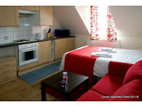 Nice and fully furnished holiday lets in London. Budget accommodation (#HE)