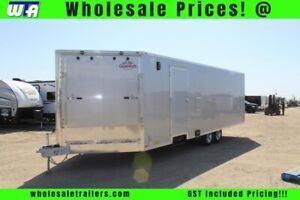 2018 Cargo Mate Red Line 8.5' Wide 24' Tandem Axle RLA8.524TA3