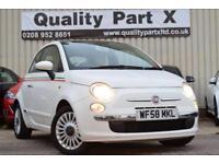 2008 Fiat 500 1.2 Lounge 3dr