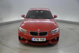 BMW 2 Series 218i M Sport 2dr [Nav]