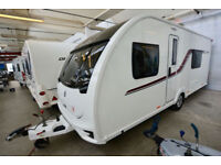 2016 Swift Challenger SE 565 4 Berth Touring Caravan with Twin Fixed Beds