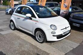 BAD CREDIT CAR FINANCE AVAILABLE 2008 58 FIAT 500 1.4 LOUNGE