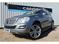 2011 61 MERCEDES-BENZ M CLASS 3.0 ML350 CDI BLUEEFFICIENCY SPORT 5D 231 BHP DIES
