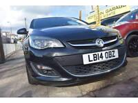 2014 14 VAUXHALL ASTRA 1.6i SRi AUTO GOOD AND BAD CREDIT CAR FINANCE AVAILABLE
