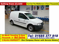 2010 - 10 - VOLKSWAGEN CADDY 2.0SDI 69PS VAN (GUIDE PRICE)