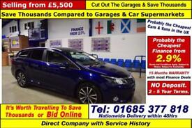 2013 - 13 - TOYOTA AVENSIS 2.0 D-4D 5 DOOR ESTATE (GUIDE PRICE)