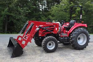 New 55HP Mahindra 2555 with loader