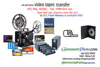 old home video transfer to DVD, Flash memory