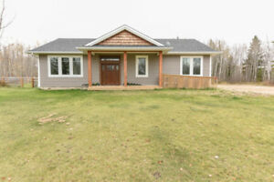 Elegant Bonnyville Acreage is a MUST SEE! 5 Bed 3 Bath Tripple G