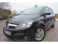 VAUXHALL ZAFIRA DESIGN 1.8 16V 5 DOOR 7 SEATER MPV*SUPERB CONDITION*LONG MOT*