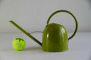 Crate and Barrel Watering Can Green (Like New)