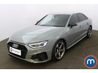 2020 Audi A4 40 TFSI Black Edition 4dr S Tronic Auto Saloon Petrol Automatic