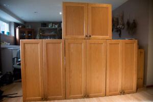 Oak Cabinets for sale