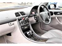 2003 Mercedes-Benz CLK 3.2 CLK320 Avantgarde Cabriolet 2dr Petrol blue Automatic