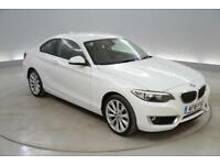 BMW 2 Series 218i Luxury 2dr [Nav]