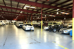 Indoor Winter Storage For Cars, Boats, Trailers & More!