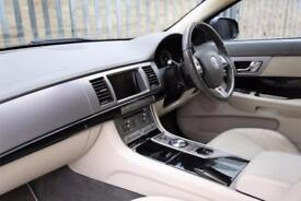 2010 Jaguar XF 3.0 TD V6 S Portfolio 4dr Diesel blue Automatic