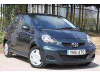 Toyota AYGO 1.0VVT-i Ice Multimode Automatic Petrol 5 Door Hatchback Dark Teal