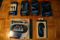 PS Vita 3G with Accessories and Games