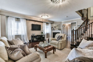 4+3 Beautiful house in Vaughan for Rent