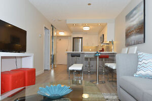 Design-Inspired 1B+Den Upscale Rental on the Waterfront!