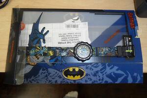 Watch / Montre Swatch Flik Flak Batman