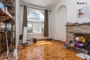 Furnished bdr with private backyard- Dundas / Grace