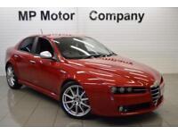 2010 07 ALFA ROMEO 159 2.0 JTDM 16V TI 4D 170 BHP DIESEL 4DR 6 SP SALOON, RED