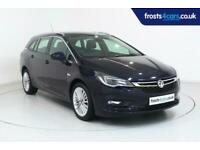 2017 Vauxhall Astra Sports Tourer 5dr 1.4i 150ps 16v Turbo Elite Automatic Clima