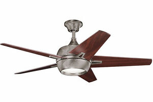 "52"" Antique Pewter Fan"