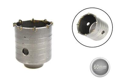 Fresa carotatrice a tazza diametro 60 mm foro 20 mm per muro frese fai da te