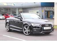 2015 Audi A3 Cabriolet 1.4 TFSI S Line 2dr (CoD)